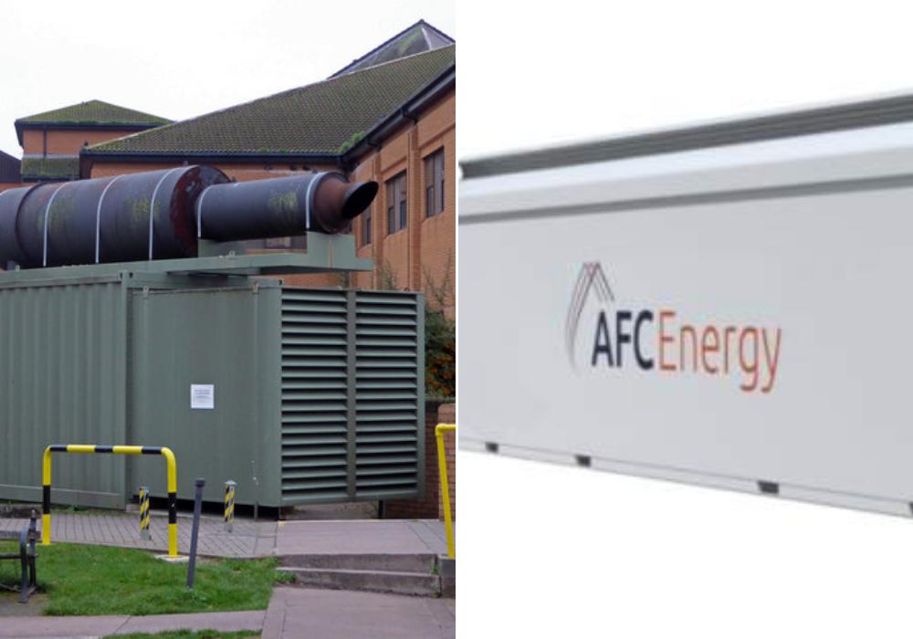 AFC Energy hydrogen generators