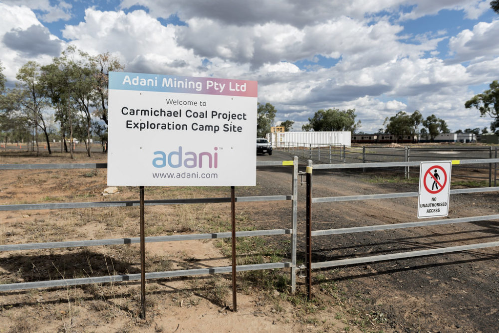 Carmichael coal mine