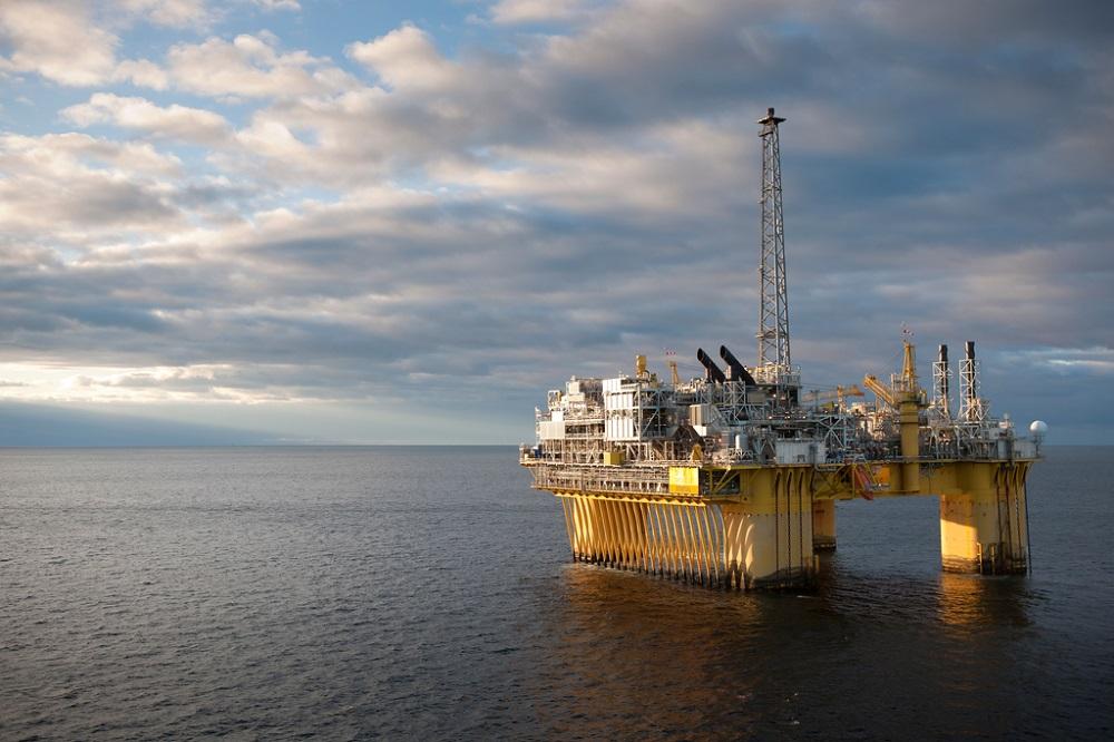 Equinor's North Sea Troll C platform (Credit: Equinor/Øyvind Hagen)