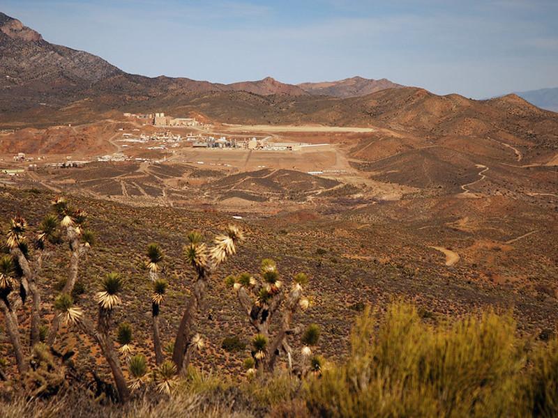 Image 1 - Mountain Pass Rare Earth Mine