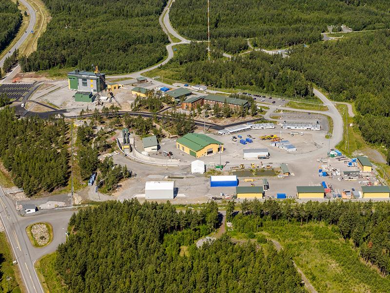 Onkalo Nuclear Waste Disposal Facility,Olkiluoto Island, Finland