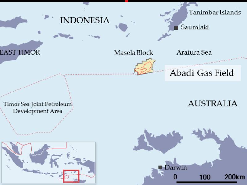 Image 2- Abadi LNG Project