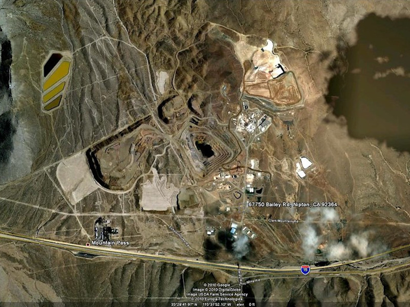 Image 3 - Mountain Pass Rare Earth Mine