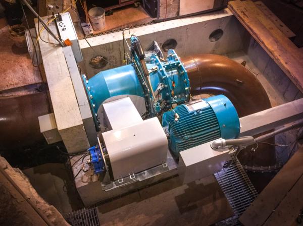 Natel hydropower turbine