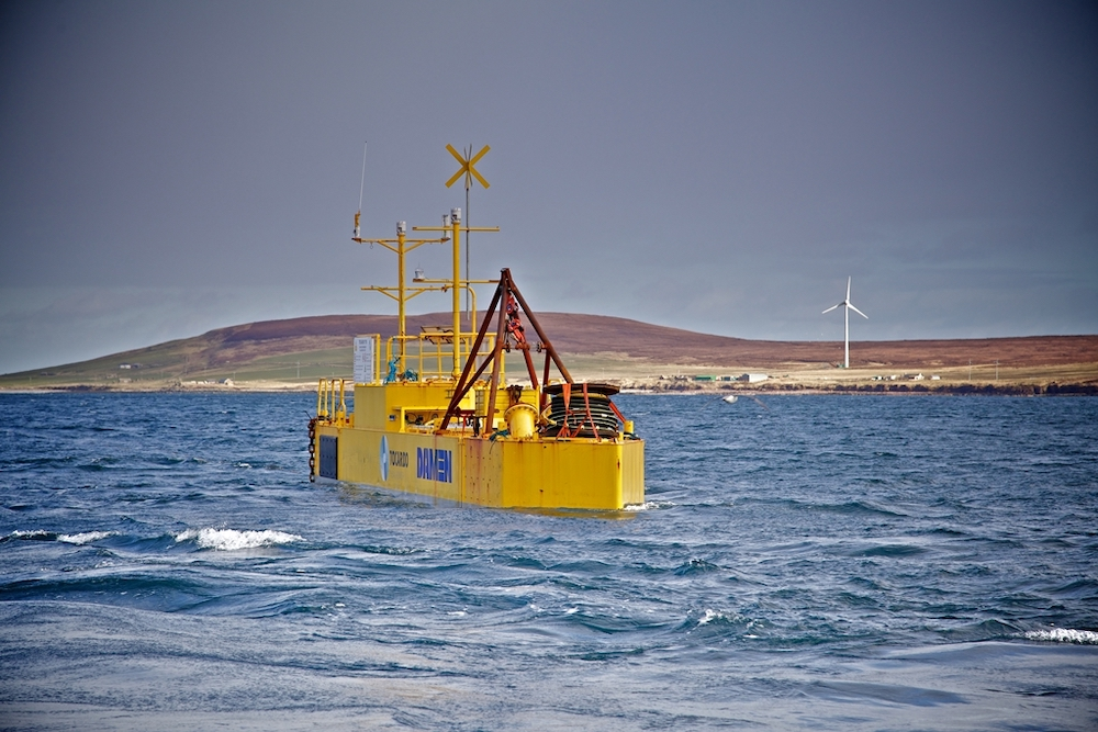 Wave and tidal power EMEC