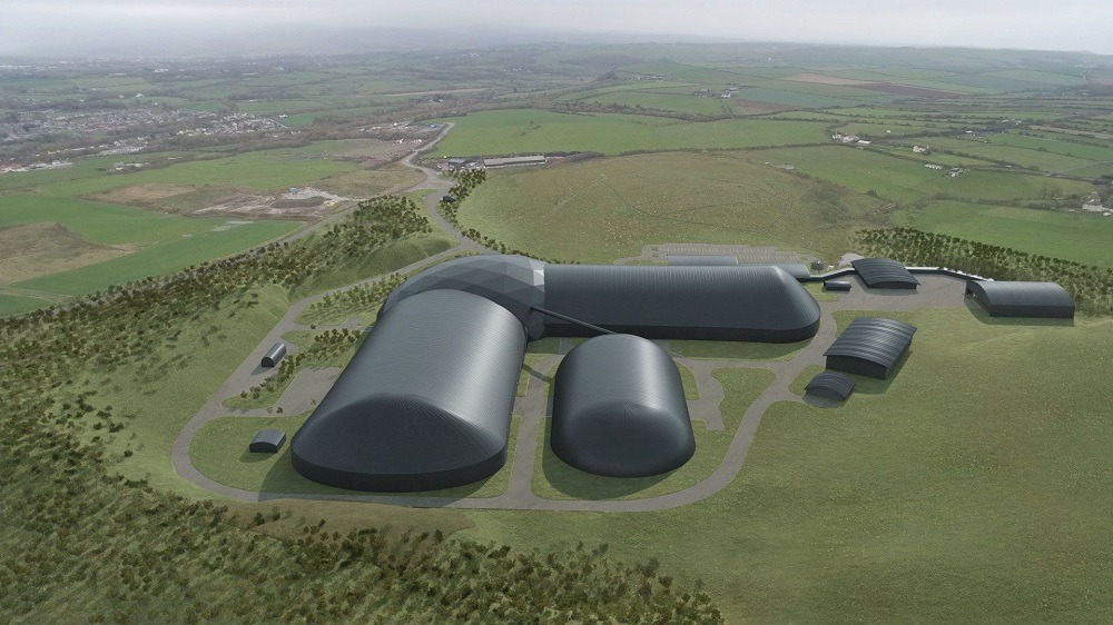 Artist's impression of Woodhouse Colliery