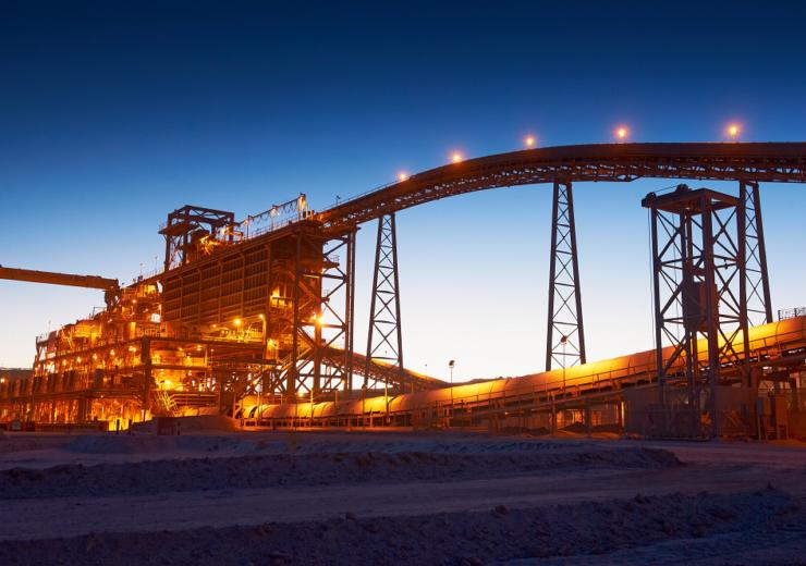 BHP spence copper mine chile