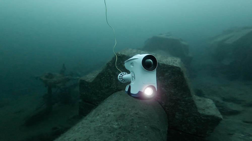Hydropower drone