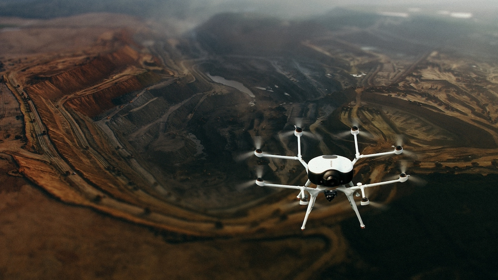 Hydropower drone Doosan