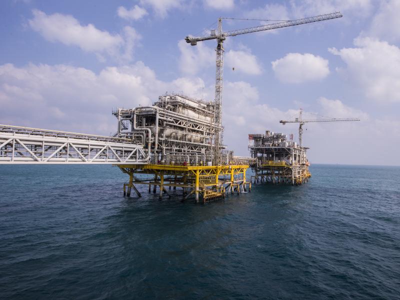 Image 1- Safaniya Oil Field