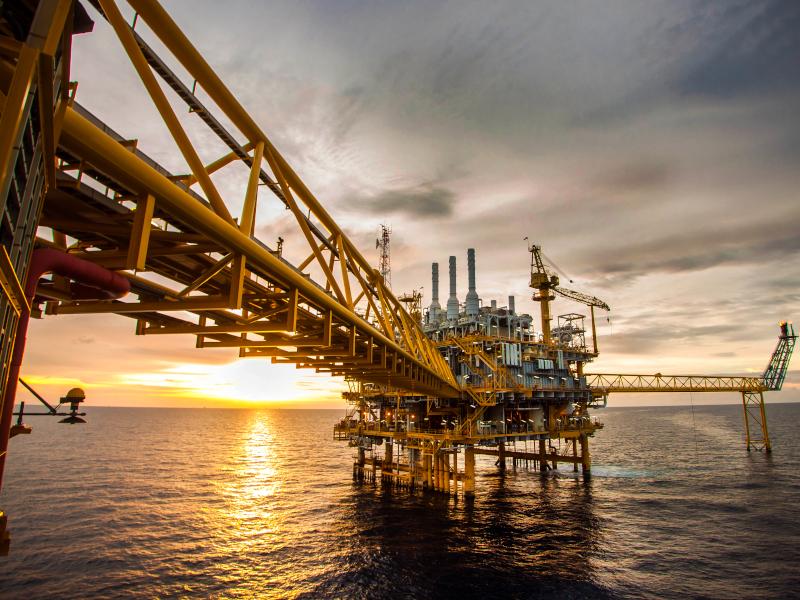 South Marsh Island Block 71 Oil Project