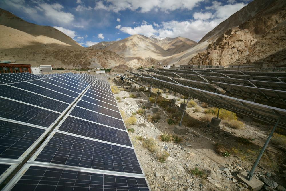 India solar power plants