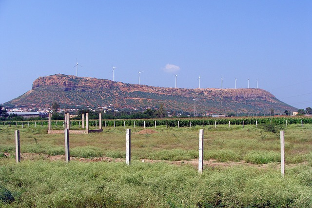 Wind power generation India