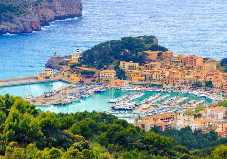 Port de Soller, Mallorca island, Spain