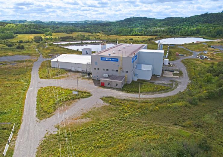 First Cobalt refinery Canada