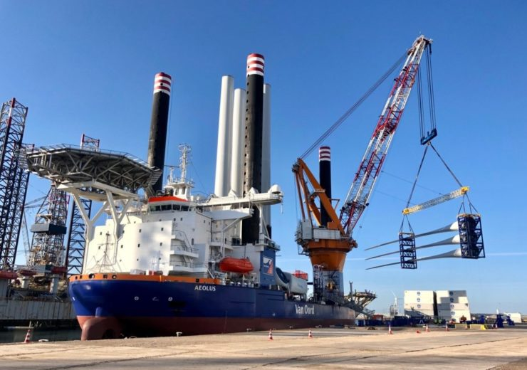 MHI Vestas installs first wind turbine at 731.5MW Borssele III/IV offshore wind farm