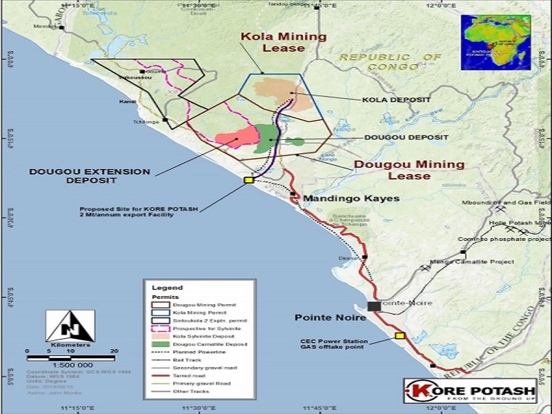 Image 1 - Dougou Extension Sylvanite Project