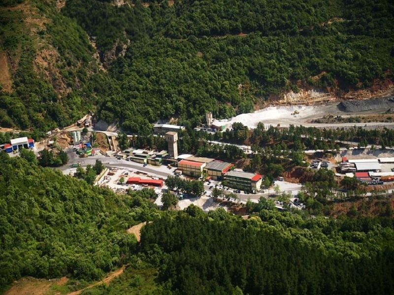 Image 1 - Stratoni Silver-Lead-Zinc Mine