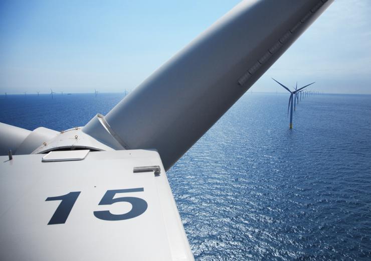 Orsted Anholt wind turbine