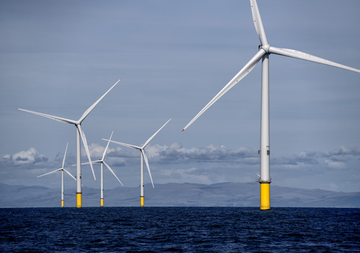 Orsted Walney offshore wind UK 2