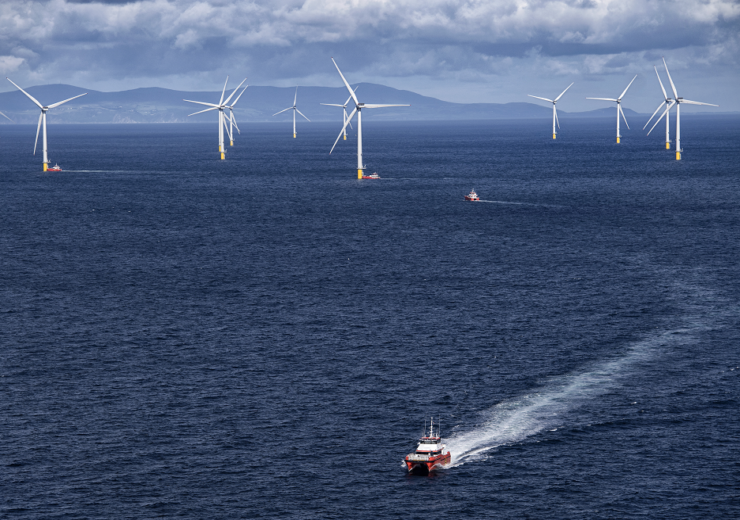 Orsted Walney offshore wind UK