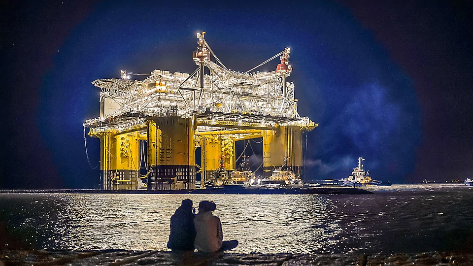 deep water oil and gas