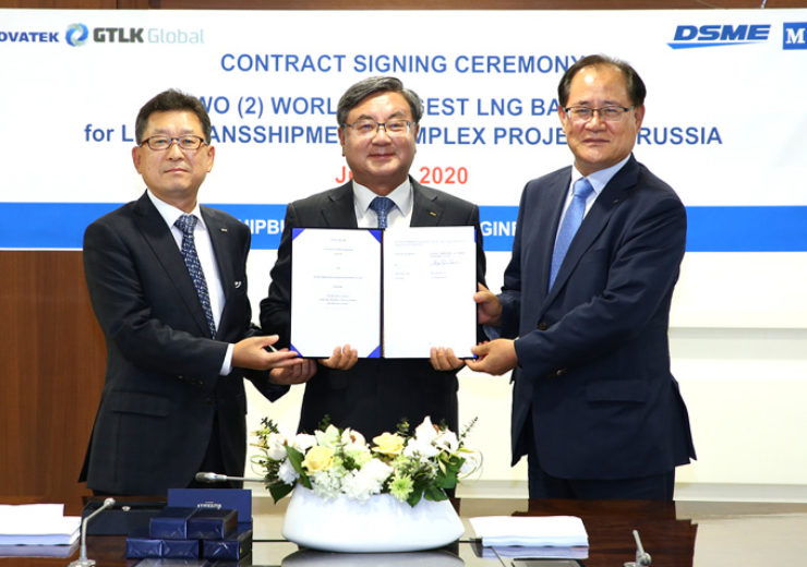 DSME secures two LNG-Barge orders from Russian ship owners