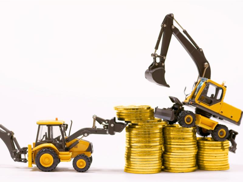 Gold mining excavator By ZhdanHenn