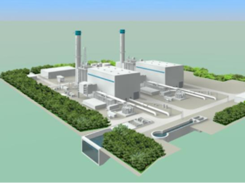 Image 1- Fukushima Natural Gas Power Plant