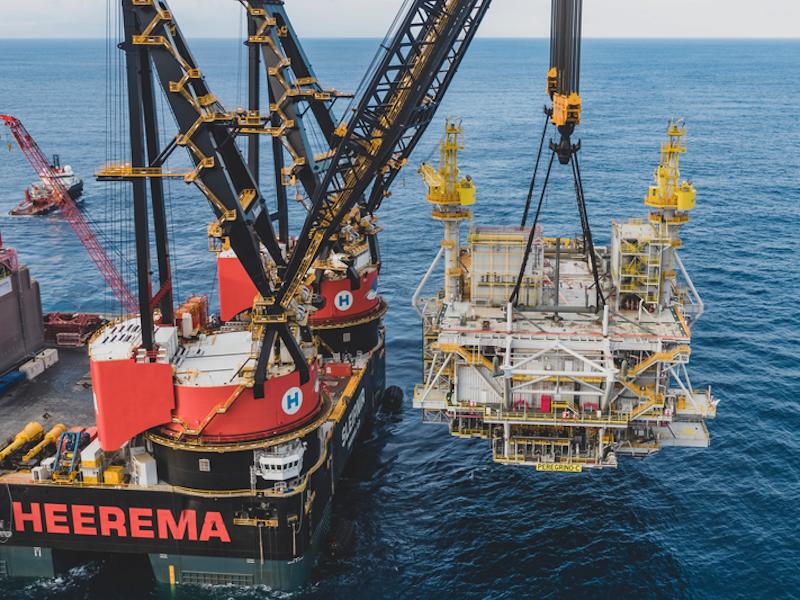 Image 2- Peregrino oil field development