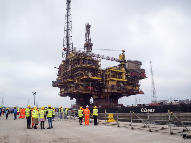 Brent Field Decommissioning