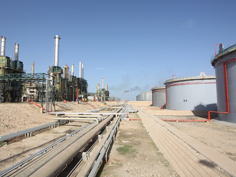 Image 3-El Sharara oil field, Libya