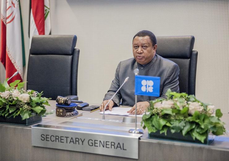 Opec3 - secretary general Sanusi Barkindo