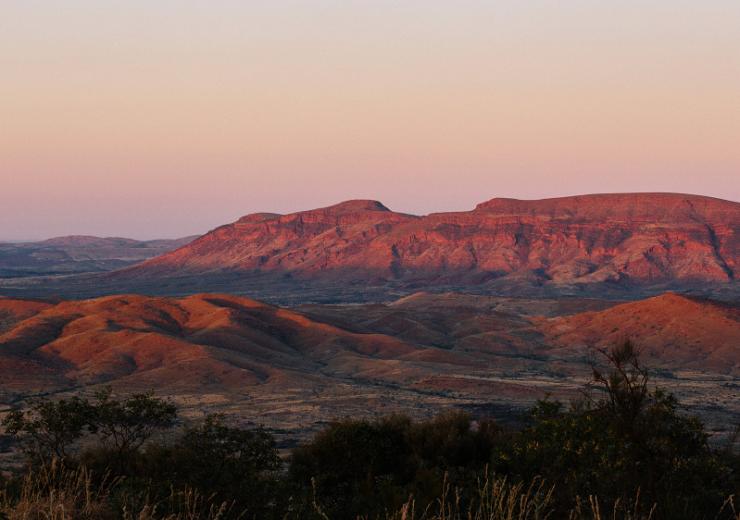 Pilbara landscape Rio Tinto