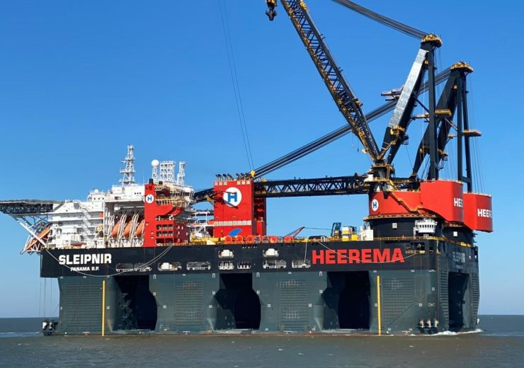 Gasum performs first LNG bunkering to Heerema's Sleipnir