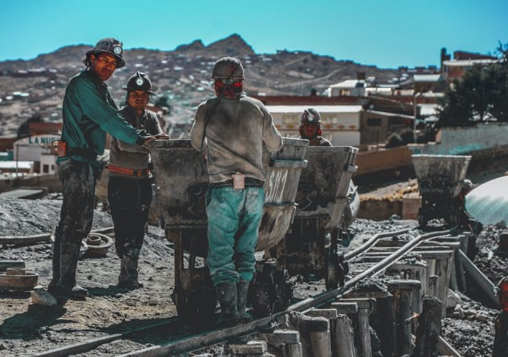 mining workers