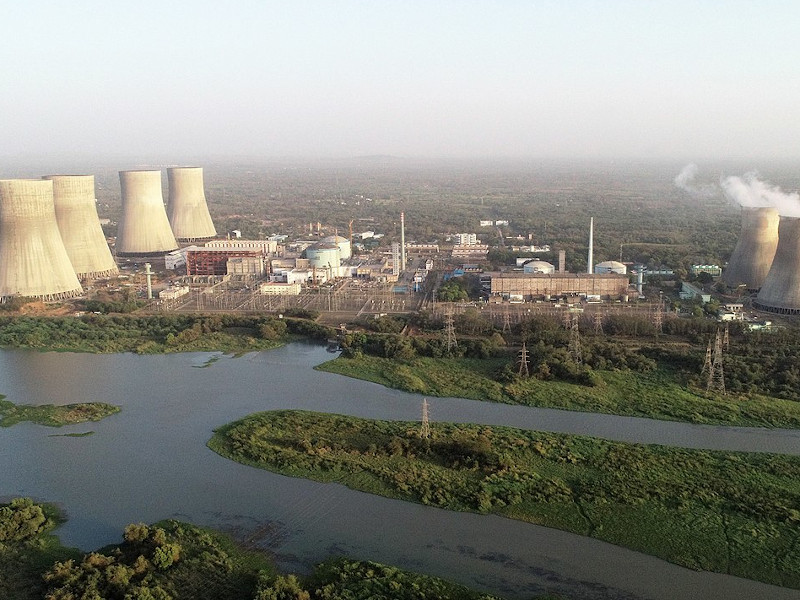 Image 1- Kakrapar Atomic Power Plant
