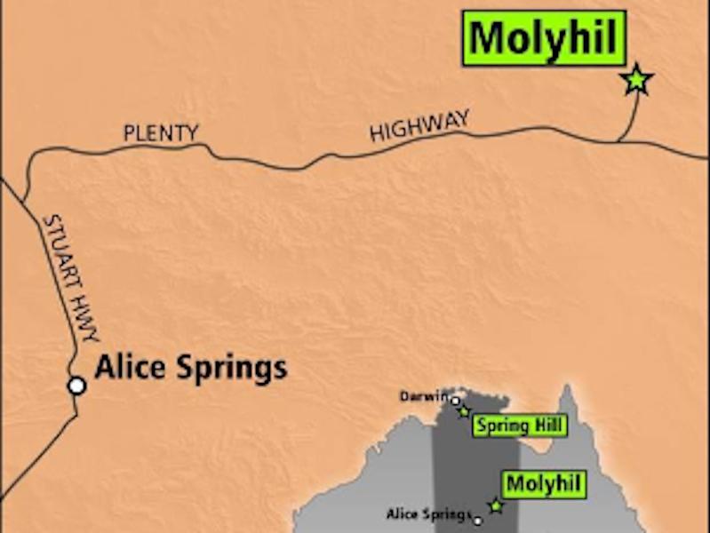 Image 2- Molyhil Tungsten-Molybdenum Mine