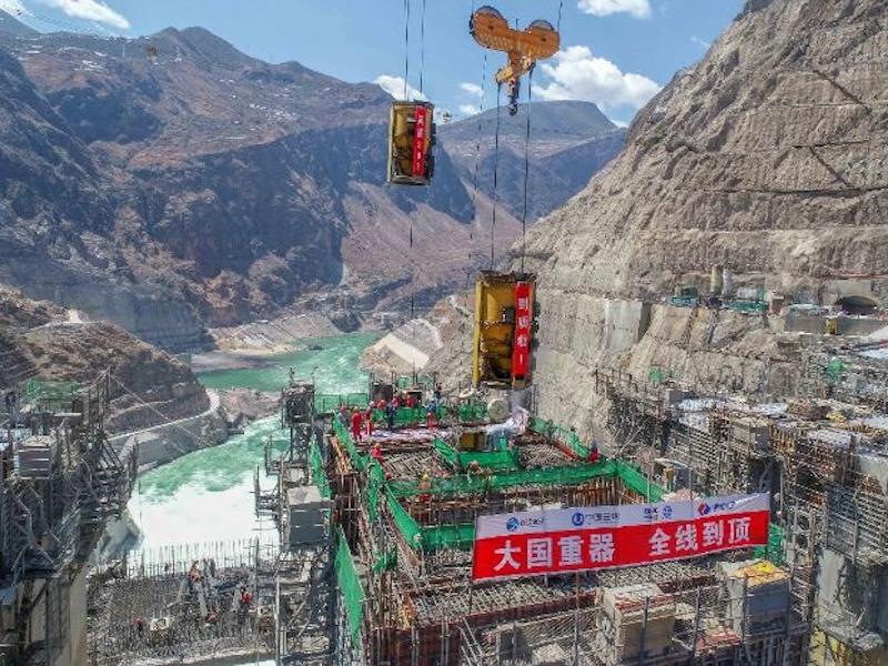 Image 2 -Wudongde Hydropower Project, China