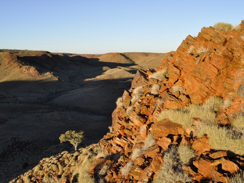 Iron Ore Rocks - Outback Australia_by Adwo