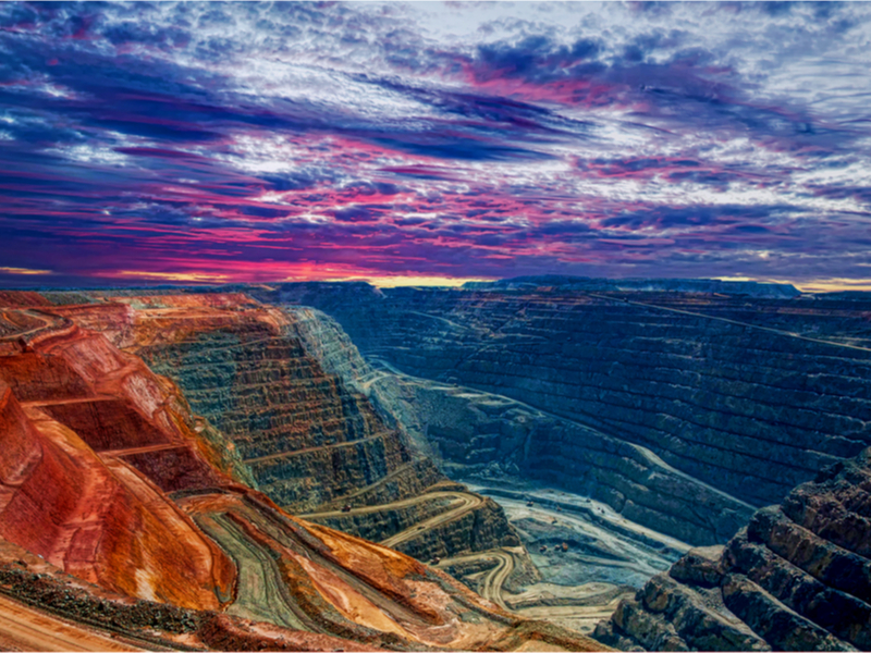 Super Pit Kalgoorlie Western Australia by imagevixen_shutterstock_103552784