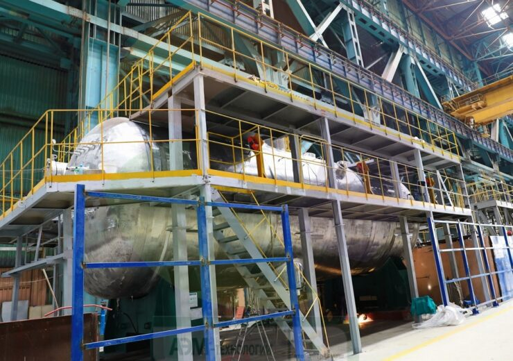 Atommash completes hydraulic tests of first steam generator for Rooppur NPP