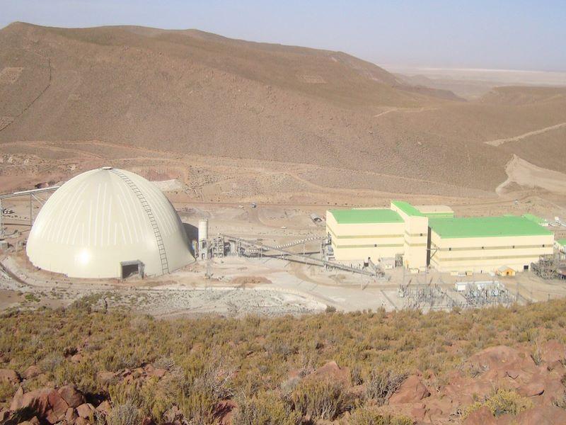 San Cristobal Zinc, Lead and Silver Mine