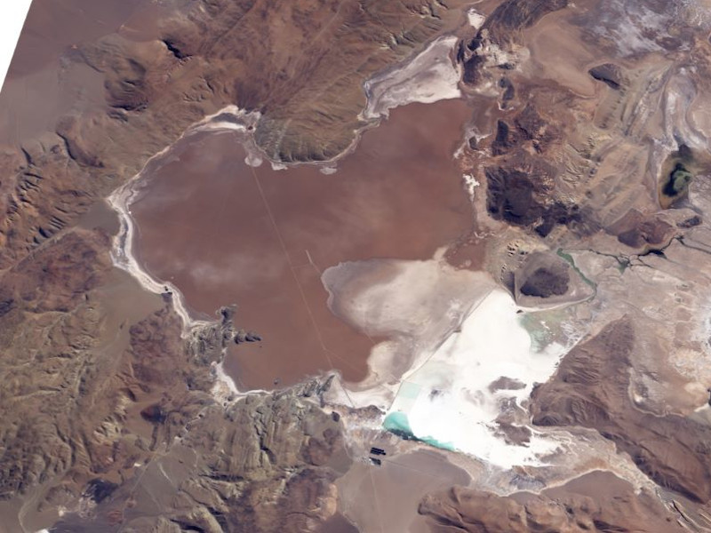 Fenix Lithium Mine, Salar Del Hombre Muerto