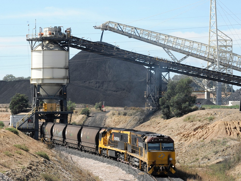 United Wambo Open Cut Coal Mine
