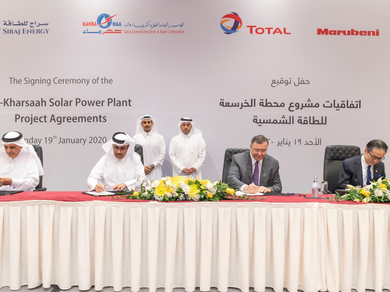 Image 2- Siraj-1 Solar Power Plant, Qatar