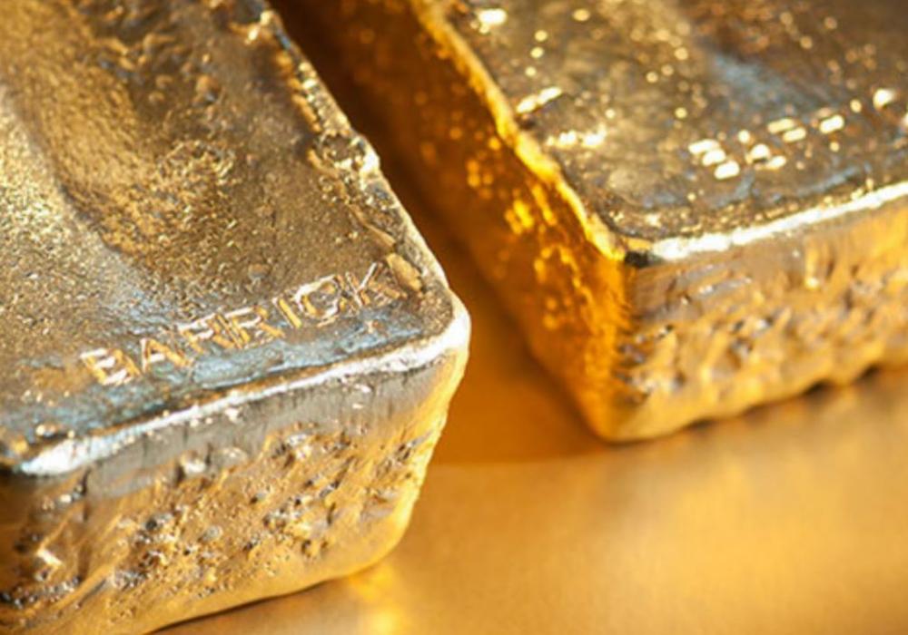 Barrick Gold profits
