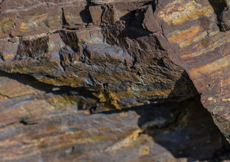 close up view of layers in iron ore_by Simple_Moments