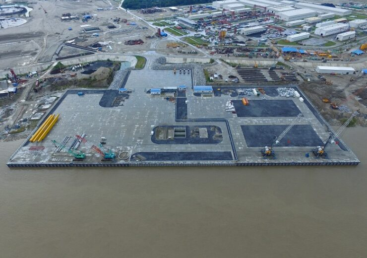 Port at Padma river became fully operational on Rooppur NPP construction site