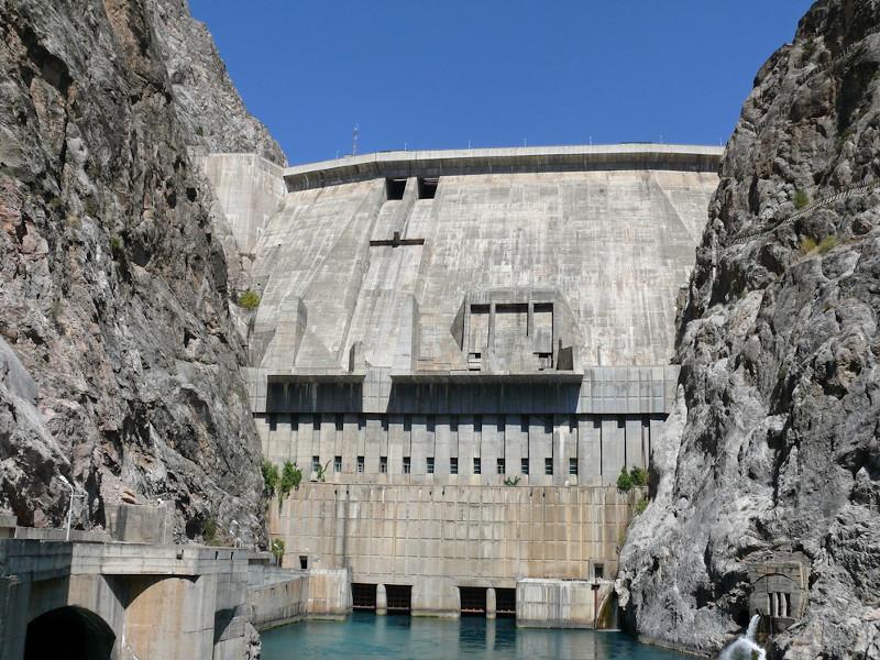Image 1-Toktogul Hydropower Plant Rehabilitation